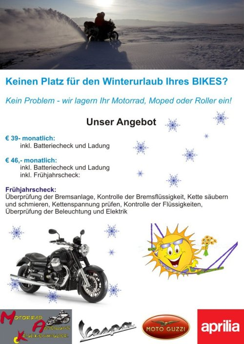 Bike-Winterurlaub